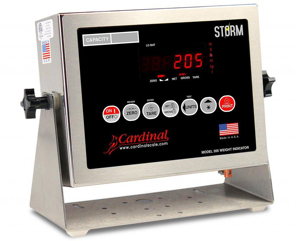digital weight indicator / wall-mount / waterproof - 8 - 12 V | 205 Storm