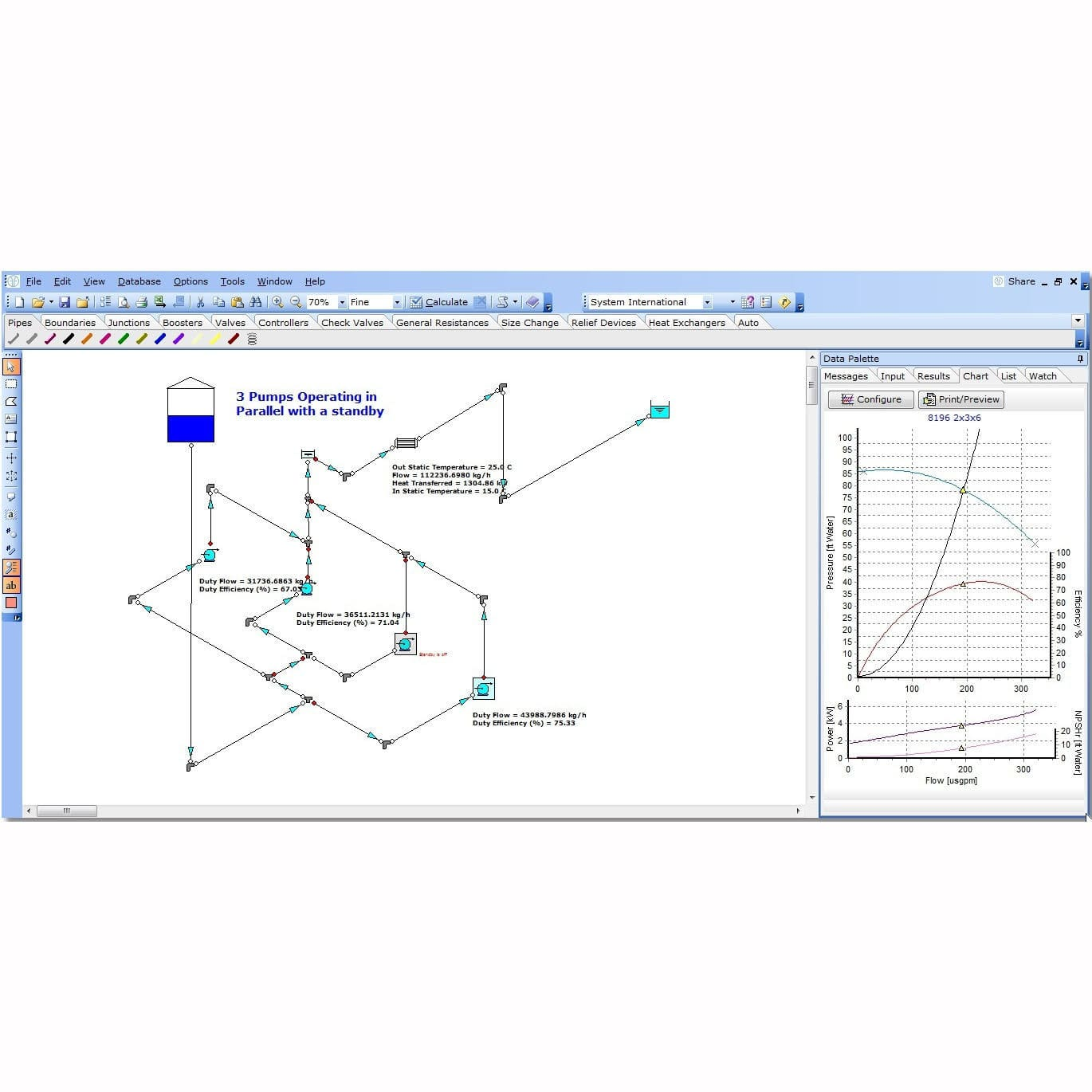 Pressure Drop Calculation Software Fluid Dynamics Simulation Is Very Useful When Simulating This Type Of Circuit Diagram Design Optimization Fluidflow