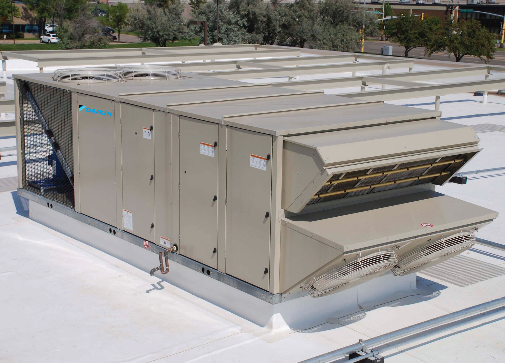 Horizontal air handling unit for schools heat recovery 15