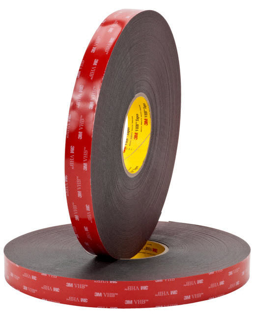 doublesided adhesive tape acrylic foam industrial foam 3m vhb