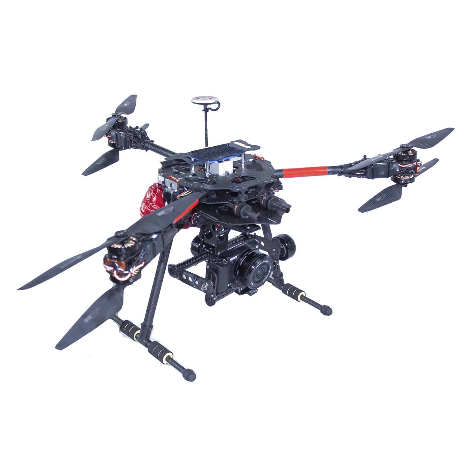 Hexarotor UAV Aerial Photography For Photogrammetry With Thermal Camera