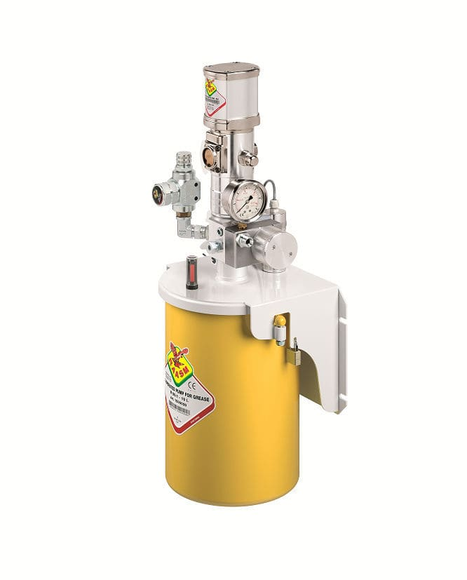 Oil lubrication system / grease / centralized / single-line CLS - system 15  RAASM SpA