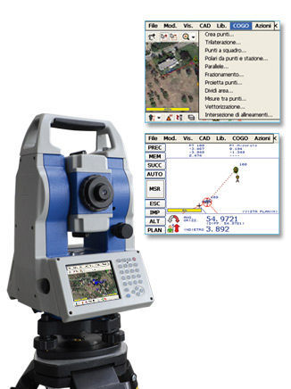 Mapping software / surveying / Android - Antas Mobile - Stonex