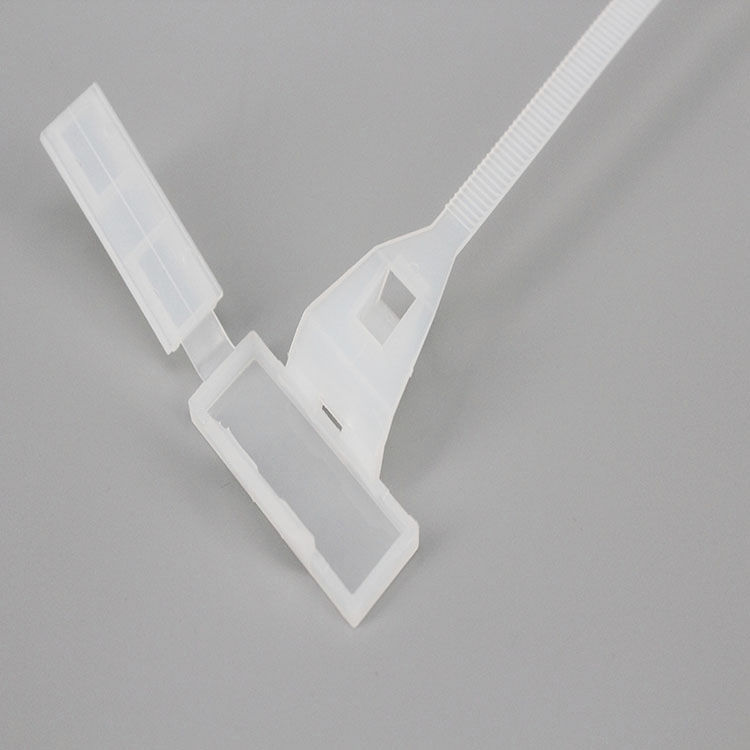 1ecf49082198 nylon cable tie / inside serrated / marker / with snap-lock mount - XGS-FMKT
