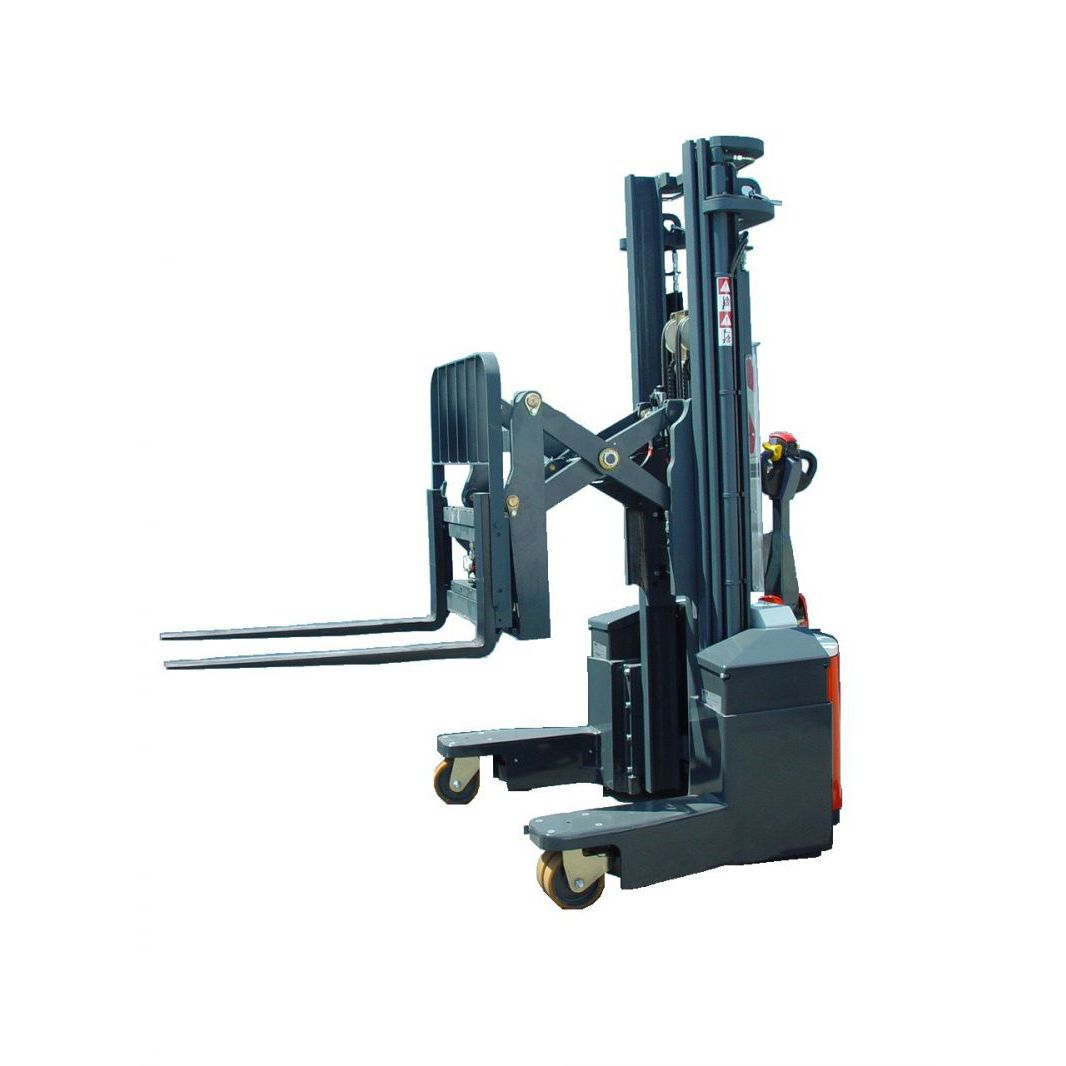 Electric stacker truck / walk-behind / for lifting / 4-way - COMBI ...