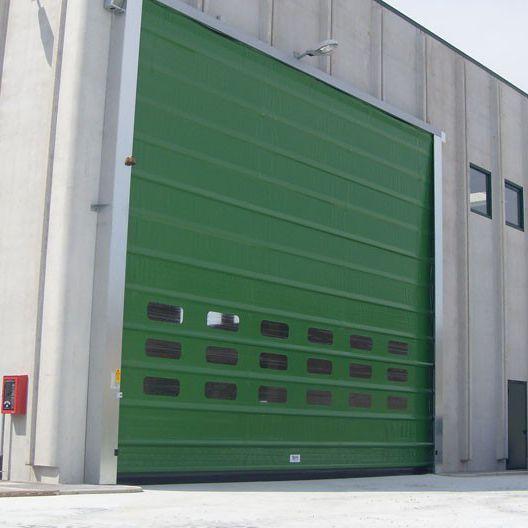 high-speed door / fold-up / industrial / exterior - Belt & High-speed door / fold-up / industrial / exterior - Belt - IPR ...