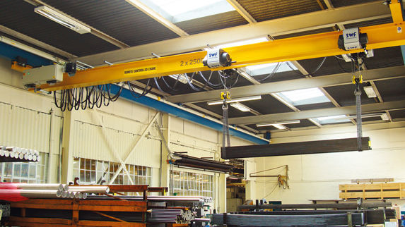 Electric winch / for overhead cranes - SWF Krantechnik GmbH - Videos