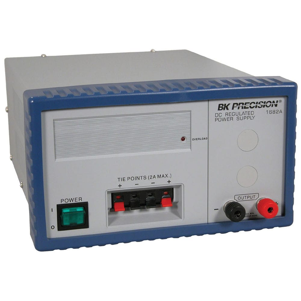 Ac Dc Power Supply Tabletop With Short Circuit Protection To 1682a