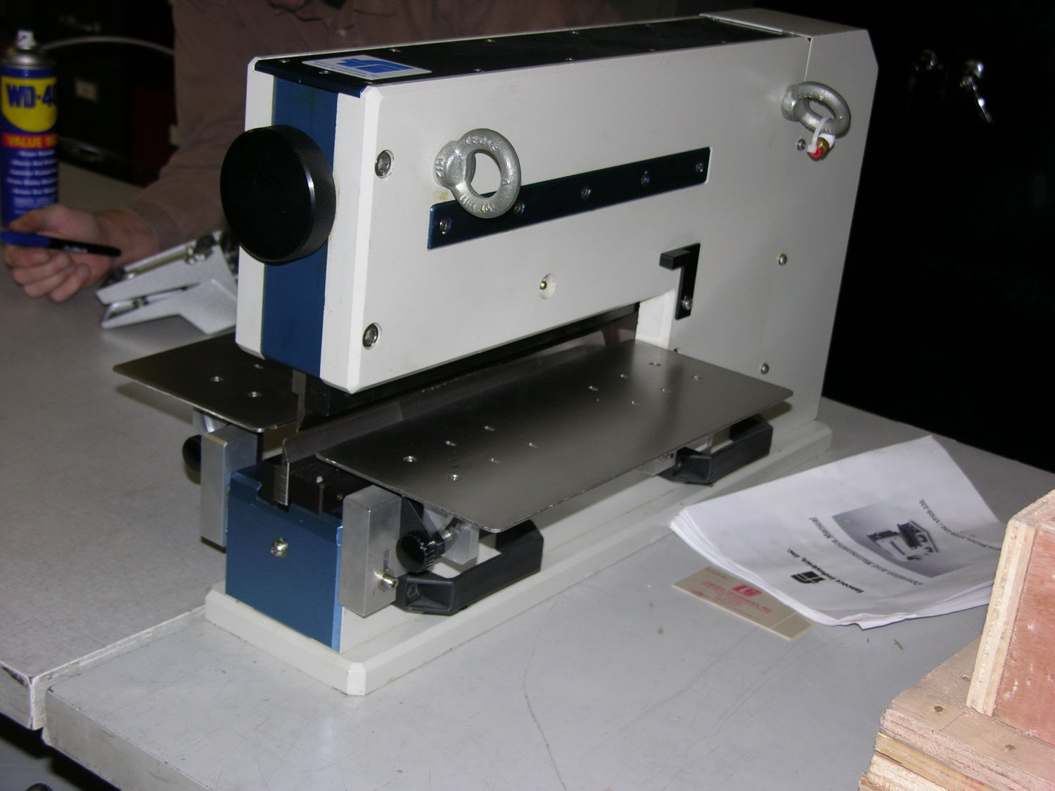 Pcb Cutting Machine For Plastics Guillotine The Printed Circuit Board Suppliers Electronics Industry