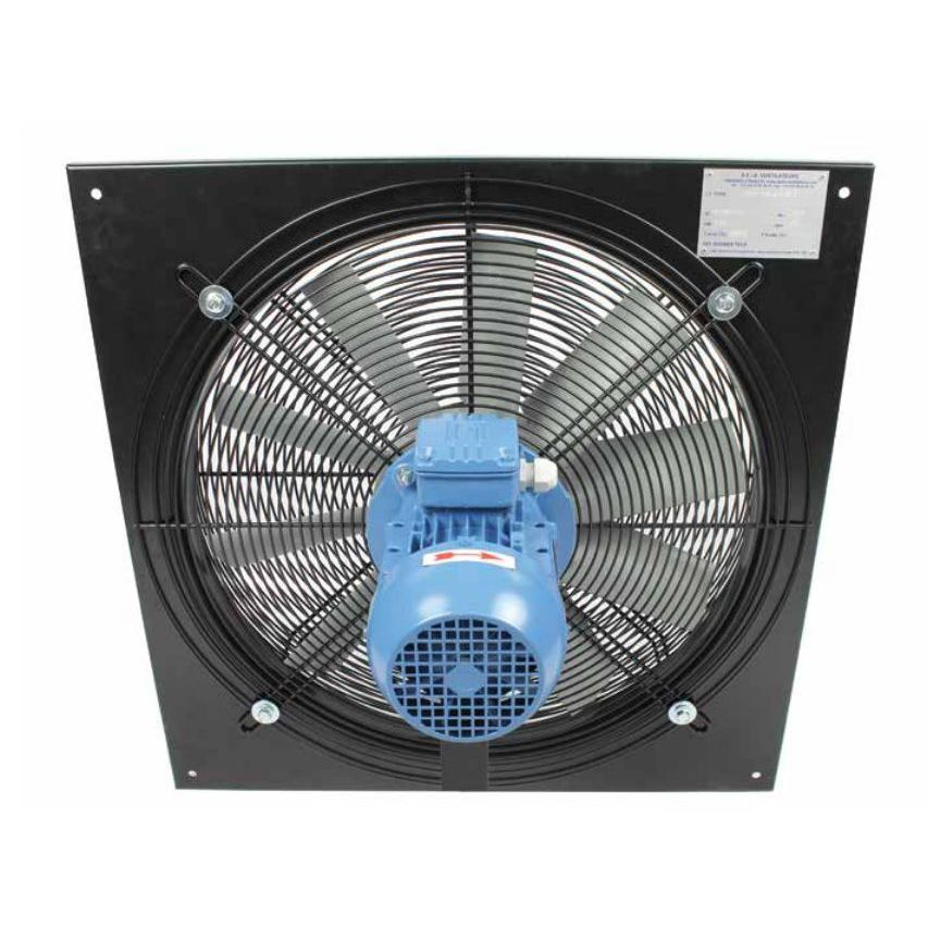wallmounted fan axial extraction atex evxp series