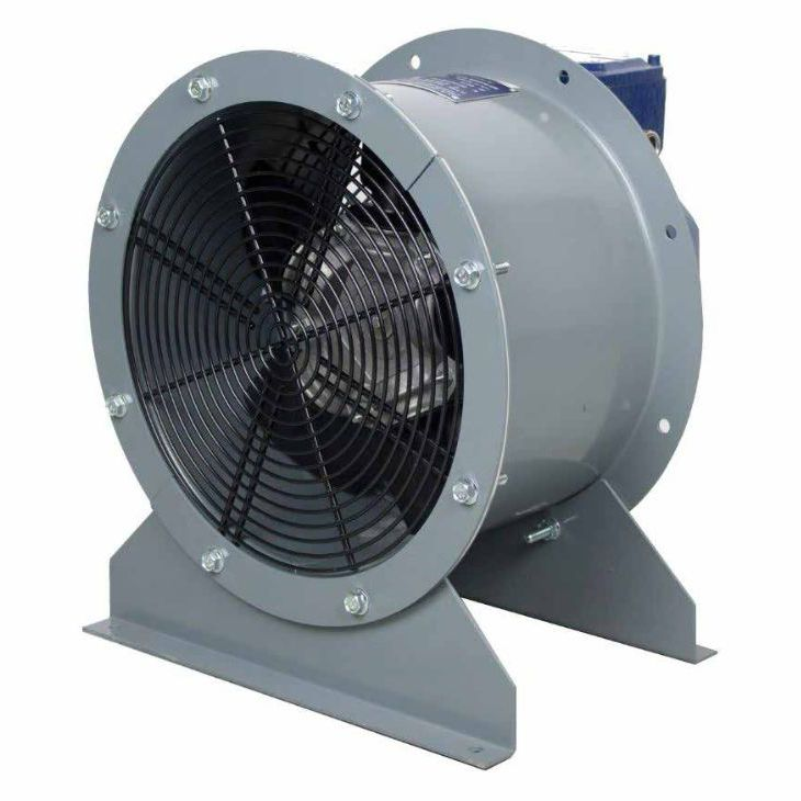 wallmounted fan axial extraction duct hdo hd1s series