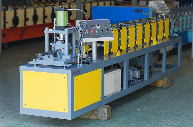 Profile roll forming machine / automatic / PLC-controlled / fixed type V  AMECO INDUSTRIAL JOINT STOCK COMPANY
