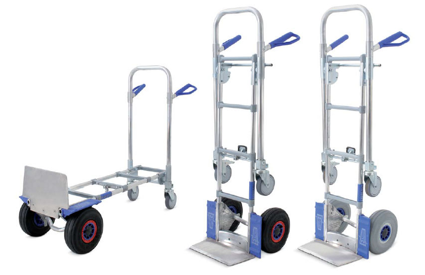 convertible hand truck for handling expresso - Convertible Hand Truck
