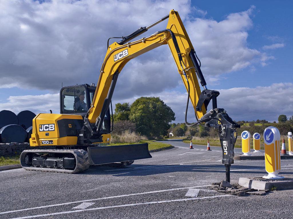 midi boom excavator crawler for construction diesel 100c 1