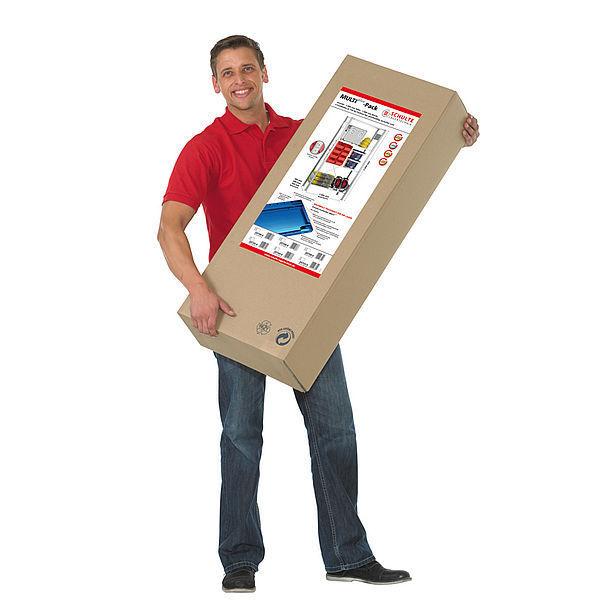 Gebrüder Schulte picking shelving box single sided modular multiplus pack