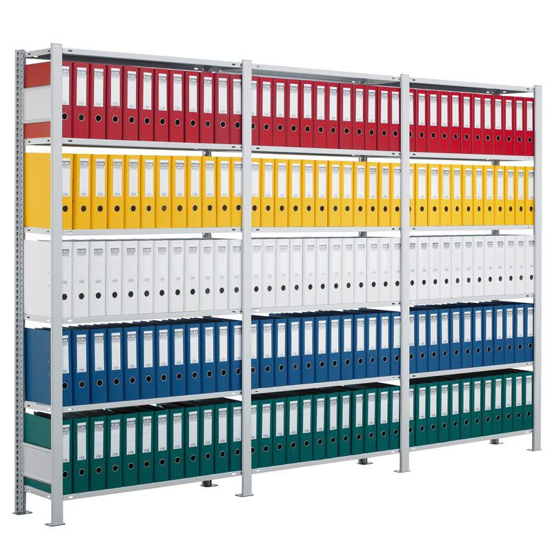 Gebrüder Schulte office shelving document single sided modular gebrüder