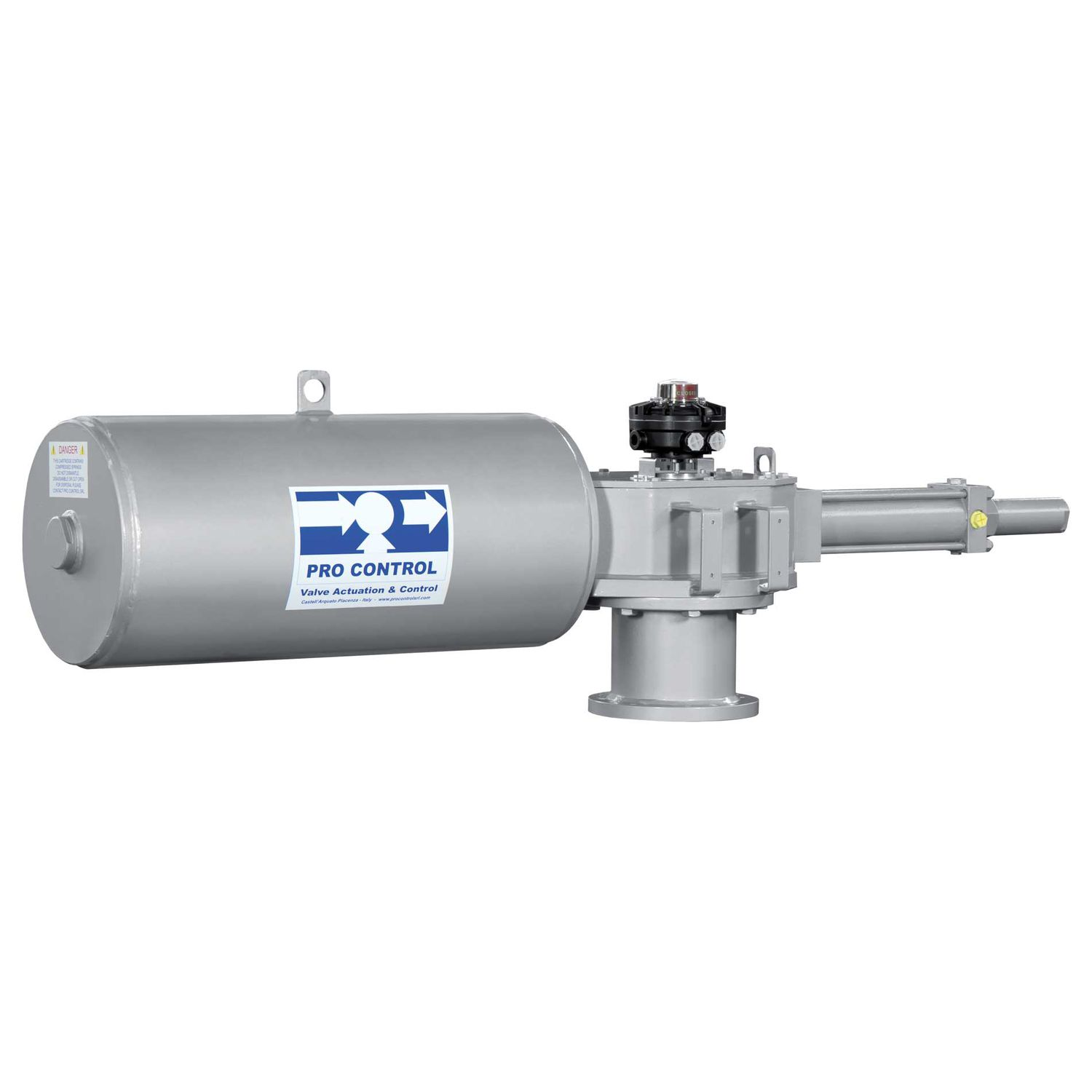 Linear actuator / hydraulic / double-acting / single-acting