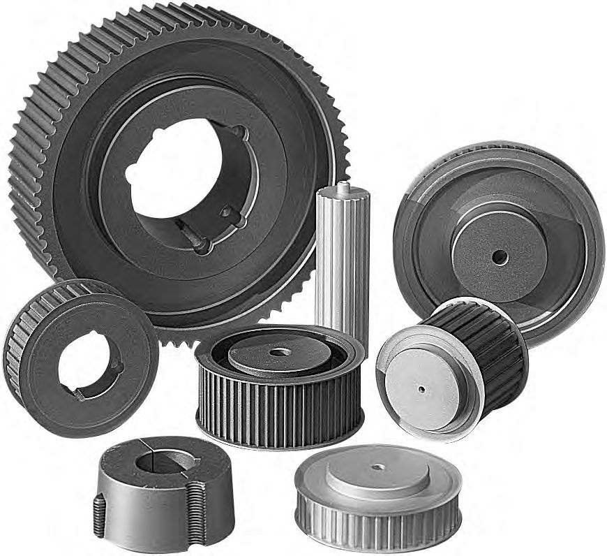 Toothed pulley / timing belt - SATI