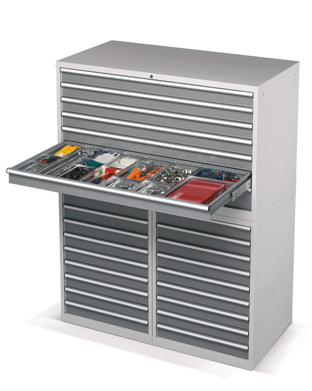 Storage Cabinet Free Standing Multi Drawer Metal Standard Gd Series