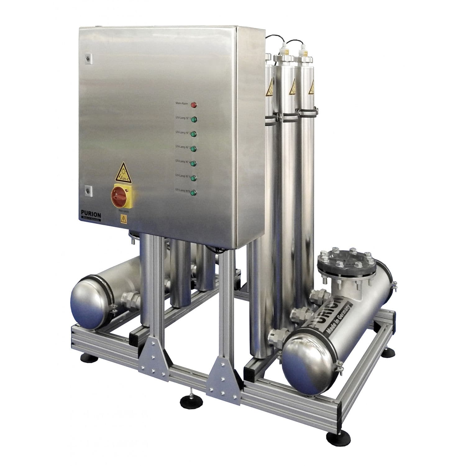 Water disinfection unit / UV / for swimming pools - PURION ...