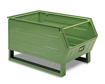 stacking containers plastic picking bin stacking sc v series sall srl