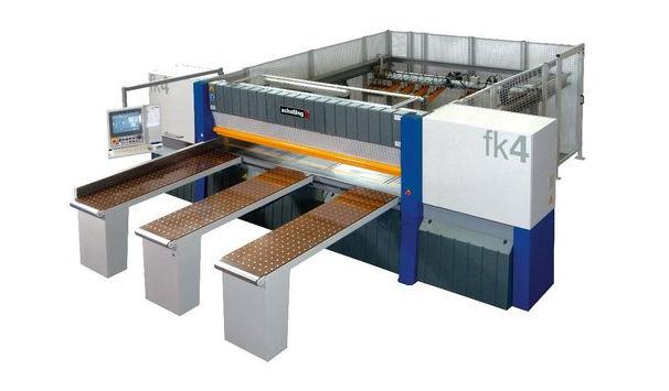 Panel saw / for plastics / horizontal / automatic - 15 kW, ø