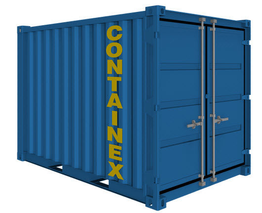 Metal crate / storage / stacking - 6' - 20' - CONTAINEX Container ...