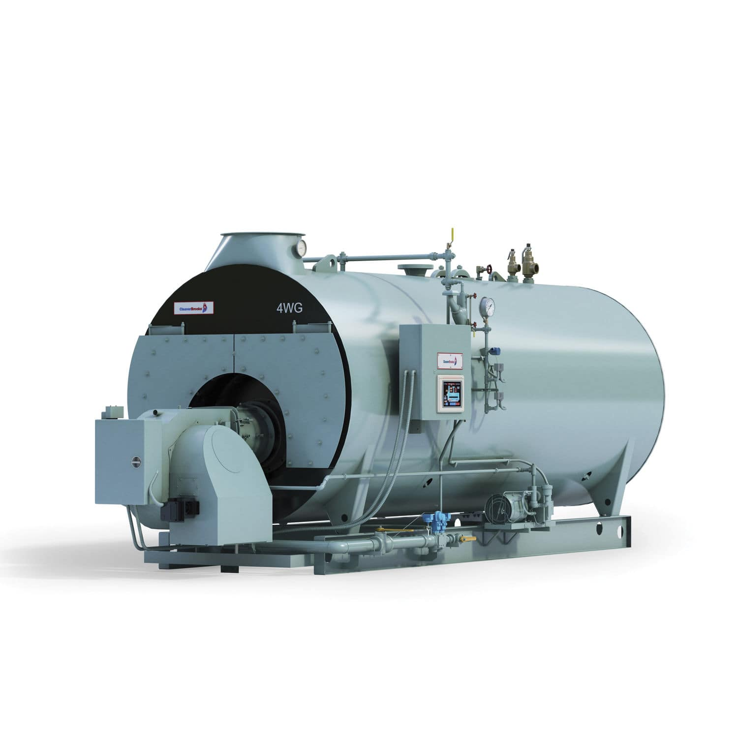 Steam boiler / hot water / fuel oil / natural gas - 4WG - Cleaver-Brooks