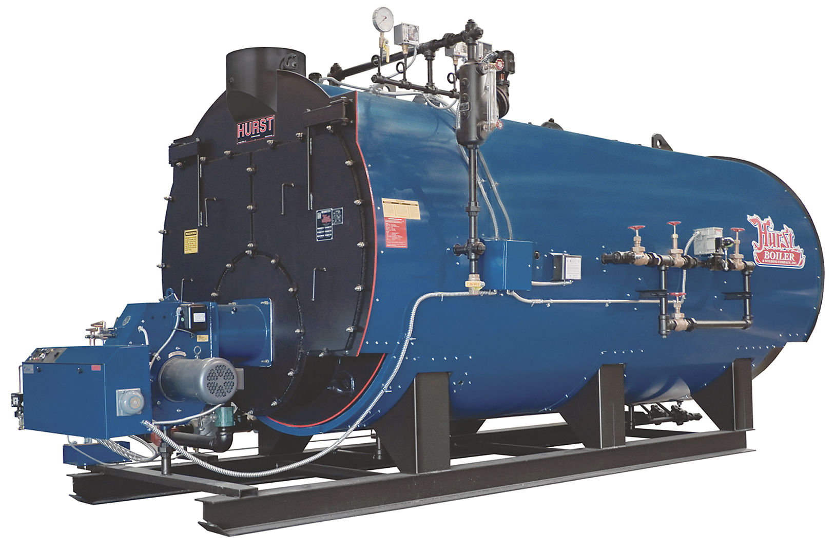 Steam boiler / gas / fire tube / Scotch marine four-pass - 500 ...