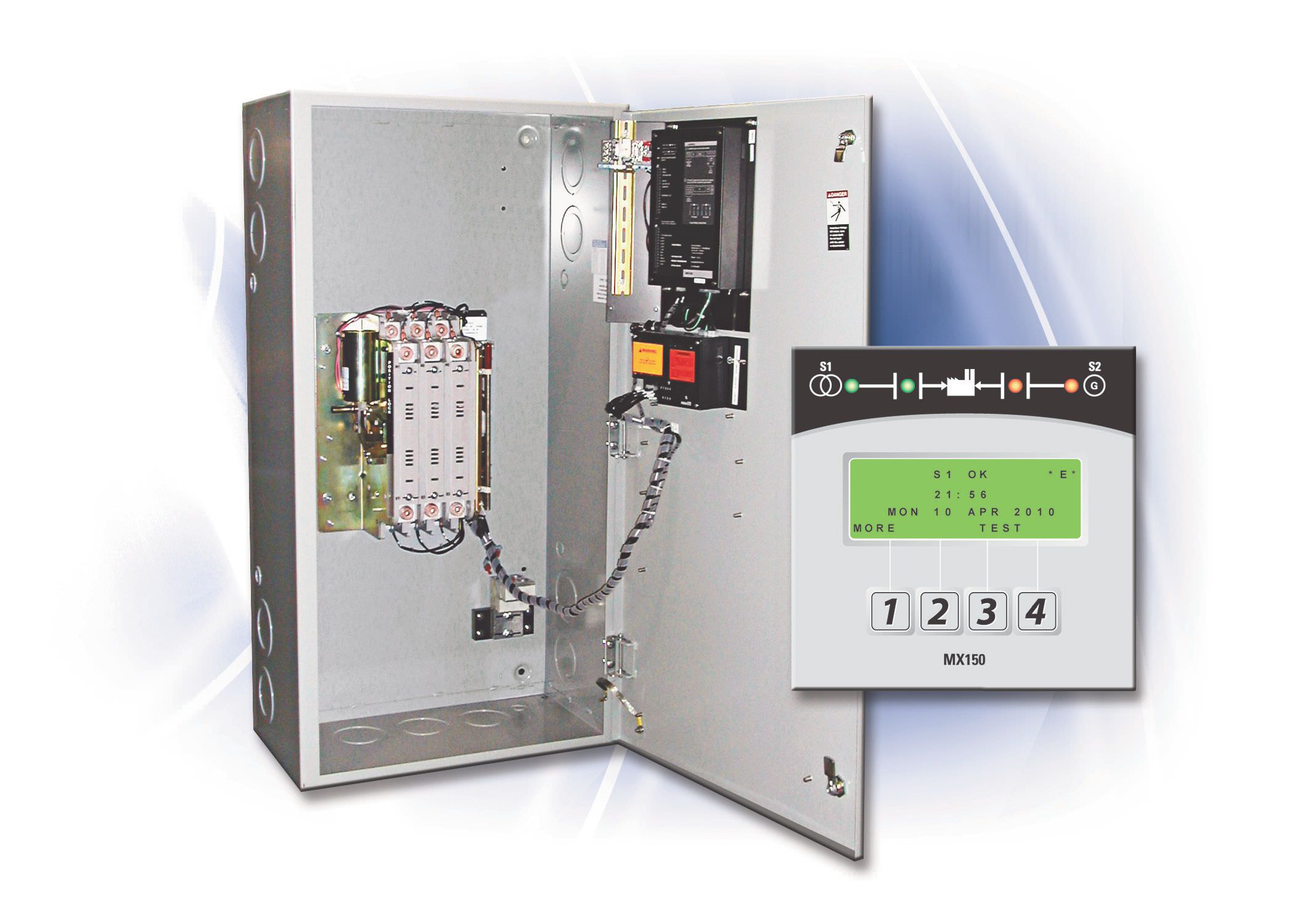 Automatic transfer switch / upright / 4-pole / 3-pole - ZTG series ...
