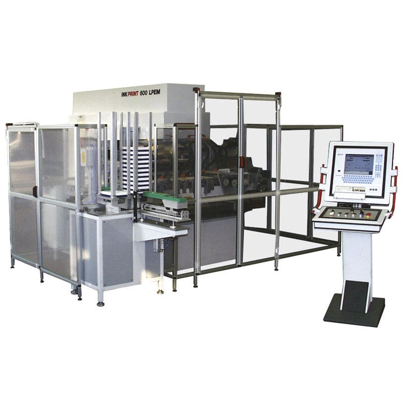 Pad Printing Machine With Hermetic Ink Cup For The Toy Industry
