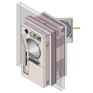 ... Laboratory autoclave / double door pass-through / front-loading Priorclave ...  sc 1 st  DirectIndustry & Laboratory autoclave / double door pass-through / front-loading ... pezcame.com