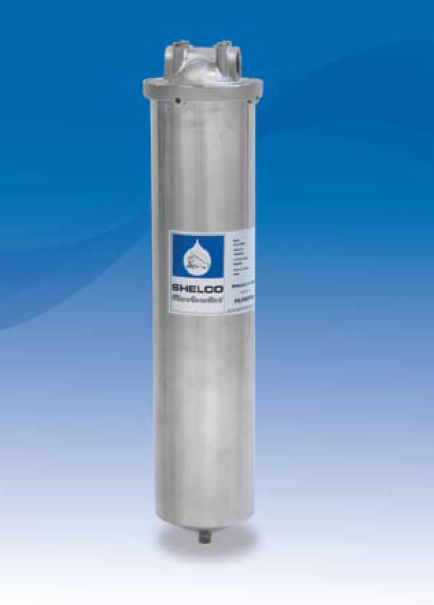 Single-cartridge filter housing / for compressed air / stainless ...