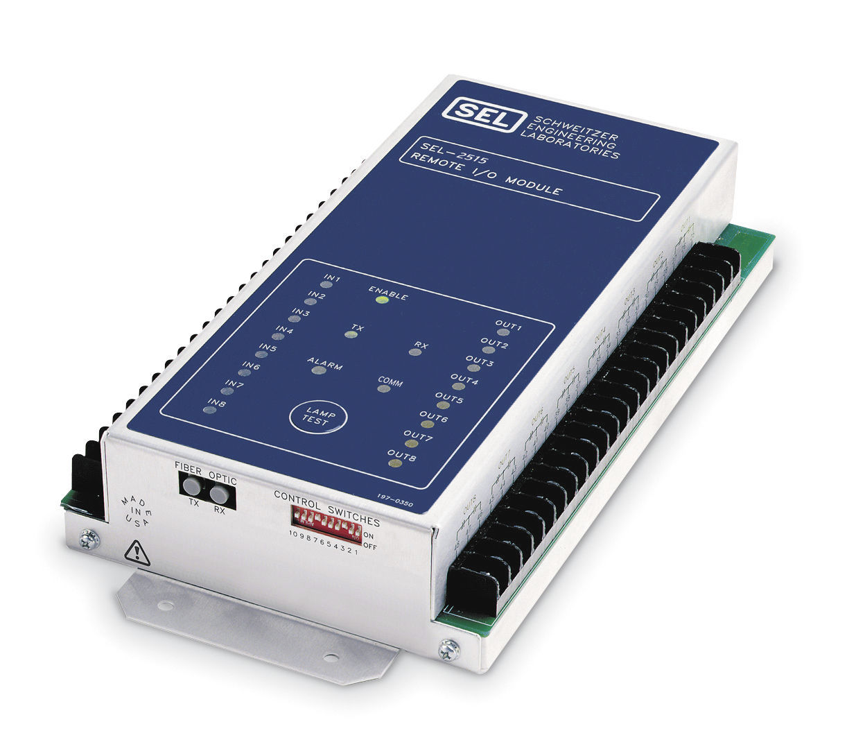 digital I/O module / serial / remote / rugged - SEL-2515