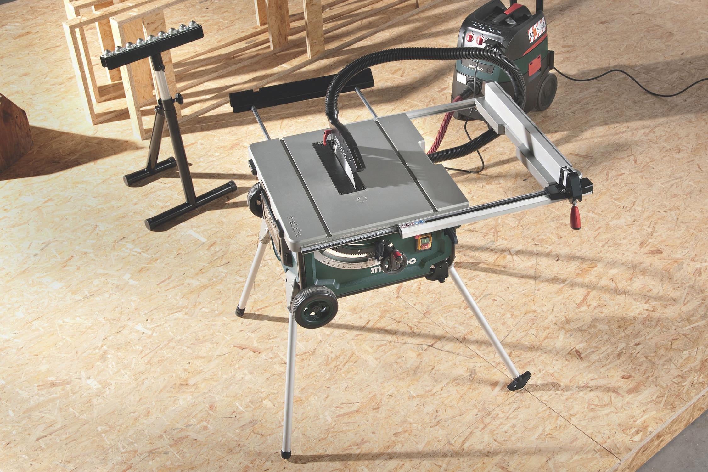 ... Sliding Table Saw / For Steel / Tabletop TS 254 Metabowerke ...