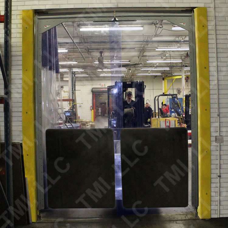 ... Swing door / PVC / for cold storage / industrial Mega-Pro™ TMI ... & Swing door / PVC / for cold storage / industrial - Mega-Pro™ - TMI LLC