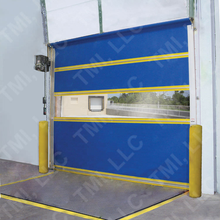 roll-up door / indoor / industrial / high-speed - Vinyl-Pro & Roll-up door / indoor / industrial / high-speed - Vinyl-Pro - TMI ...