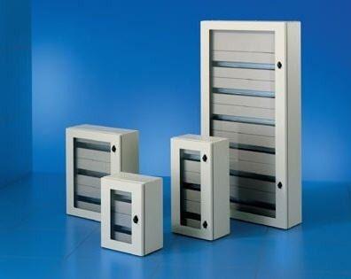 Modular electrical enclosure / sheet steel / circuit breaker ...