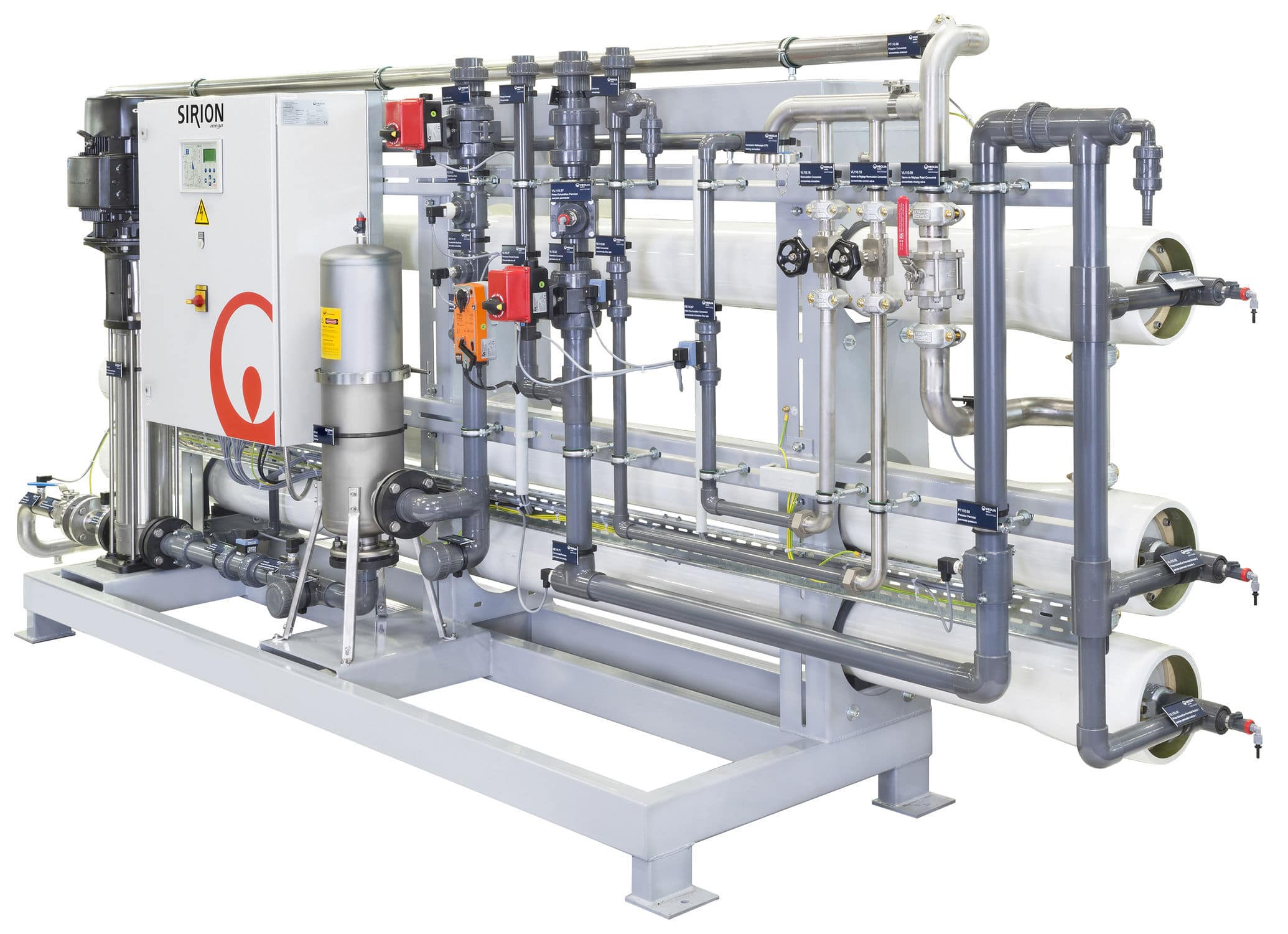 Reverse osmosis water purification unit 5 30 m³ h