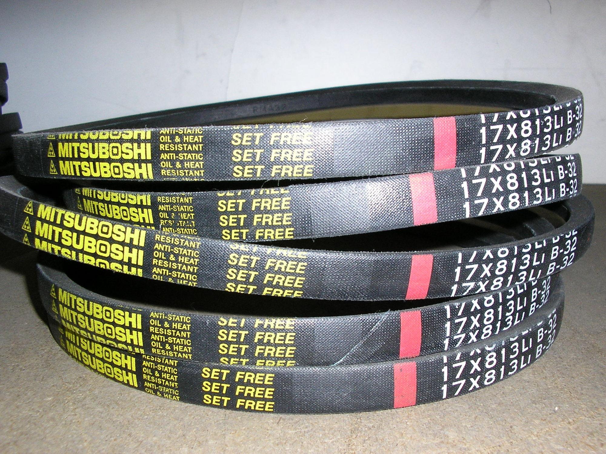 Tzoidal transmission belt / rubber - MITSUBOSHI EUROPE