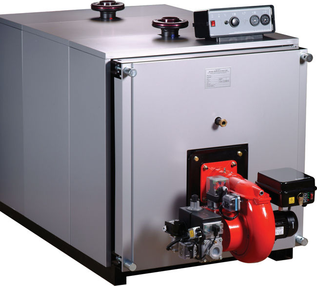 Hot water boiler / gas / fire tube - PHW series - Byworth Boilers