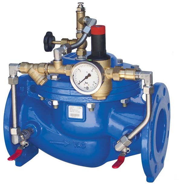 Diaphragm valve hydraulically operated flow regulator pressure diaphragm valve hydraulically operated flow regulator pressure reducing pico m100 ccuart Choice Image