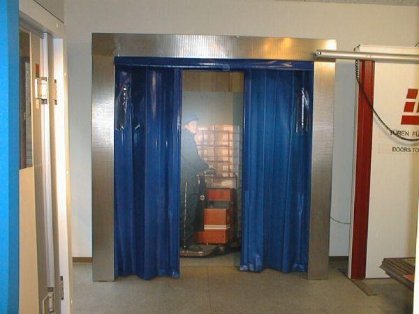 Cold Storage Warehouse Curtain