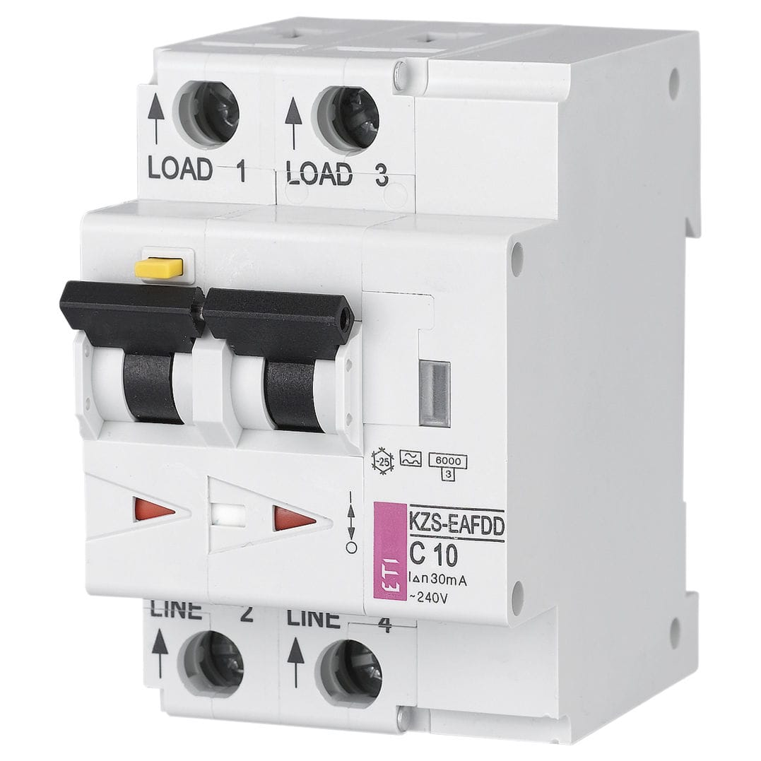 Residual Current Circuit Breaker With Overcurrent Protection 2 Pole Din Rail 002173832