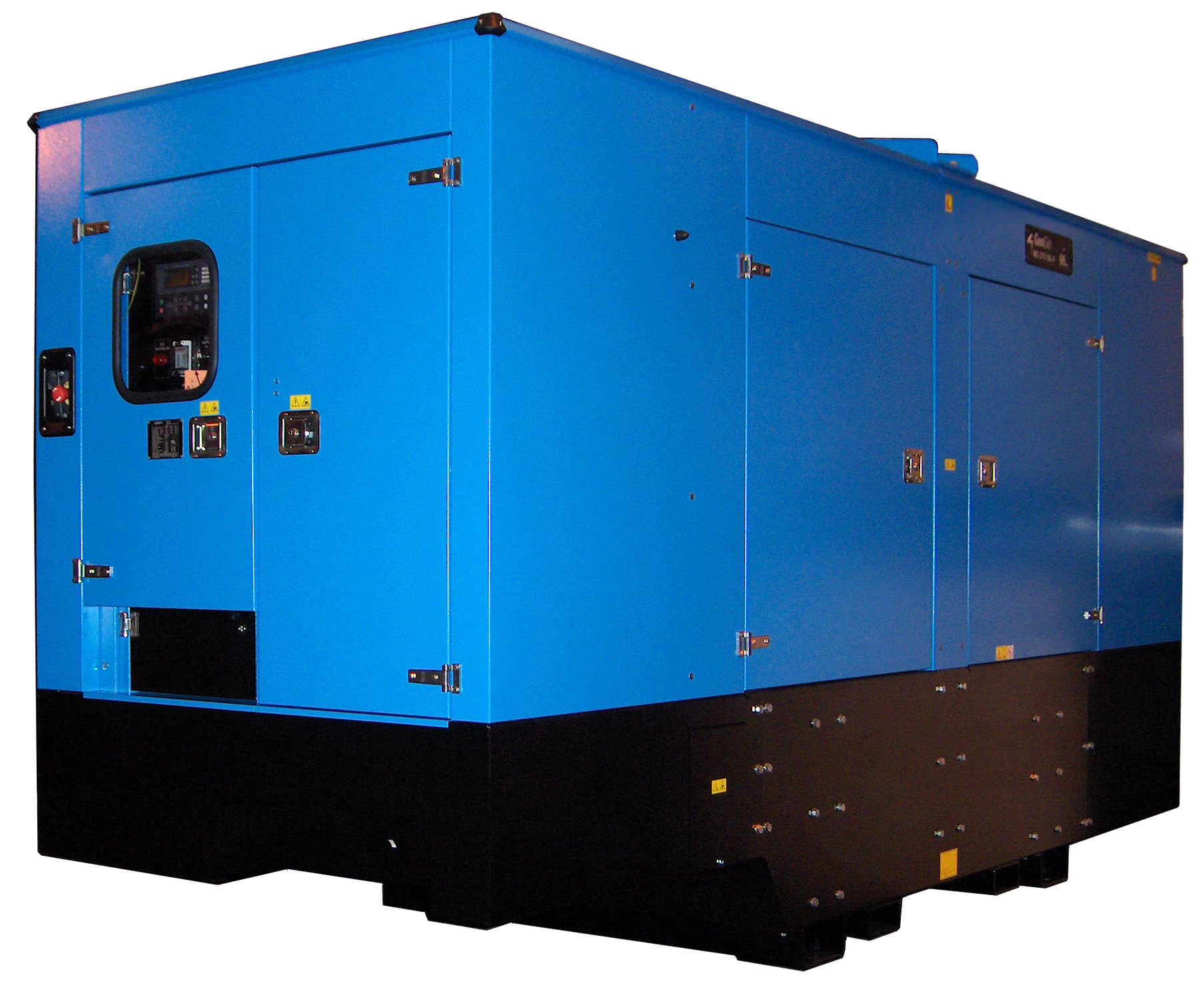 Three phase generator set sel stationary 50 Hz MG 220