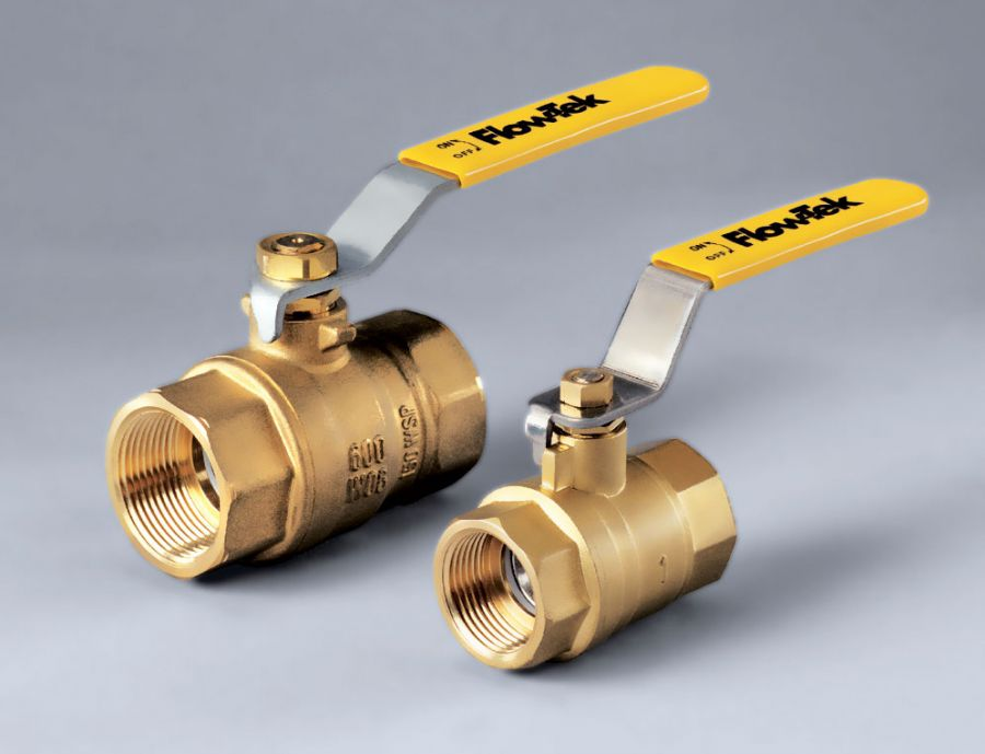 Ball valve / lever / control / for water - S51 - Bray International
