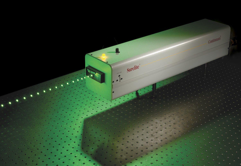 Pulsed laser / solid-state / infrared / green - Surelite™ Series ...