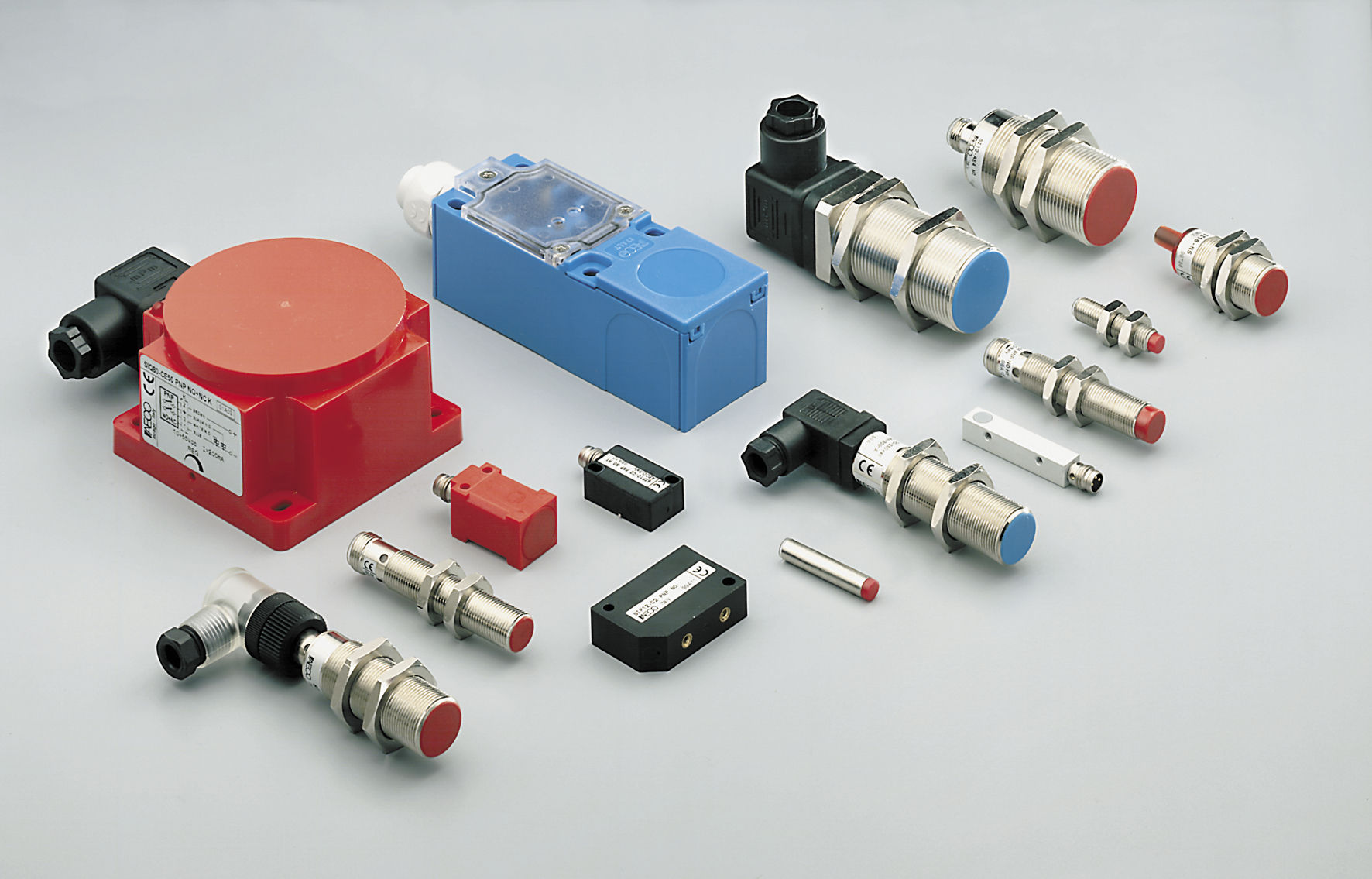 Inductive Proximity Sensor Cylindrical Ip67 Amplified Aeco Switch Together With
