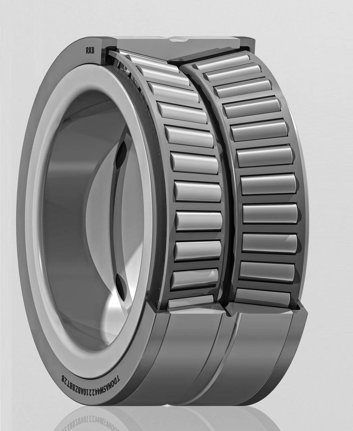 tapered roller bearing. tapered roller bearing / double-row for heavy loads - kc-pan01 series a