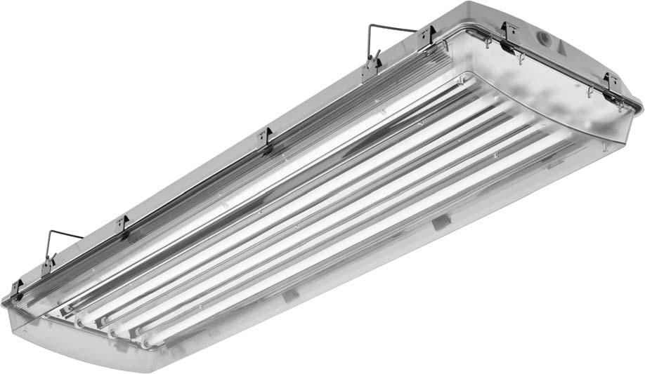 Ceiling-mounted lighting / fluorescent tube / for shops / for ...
